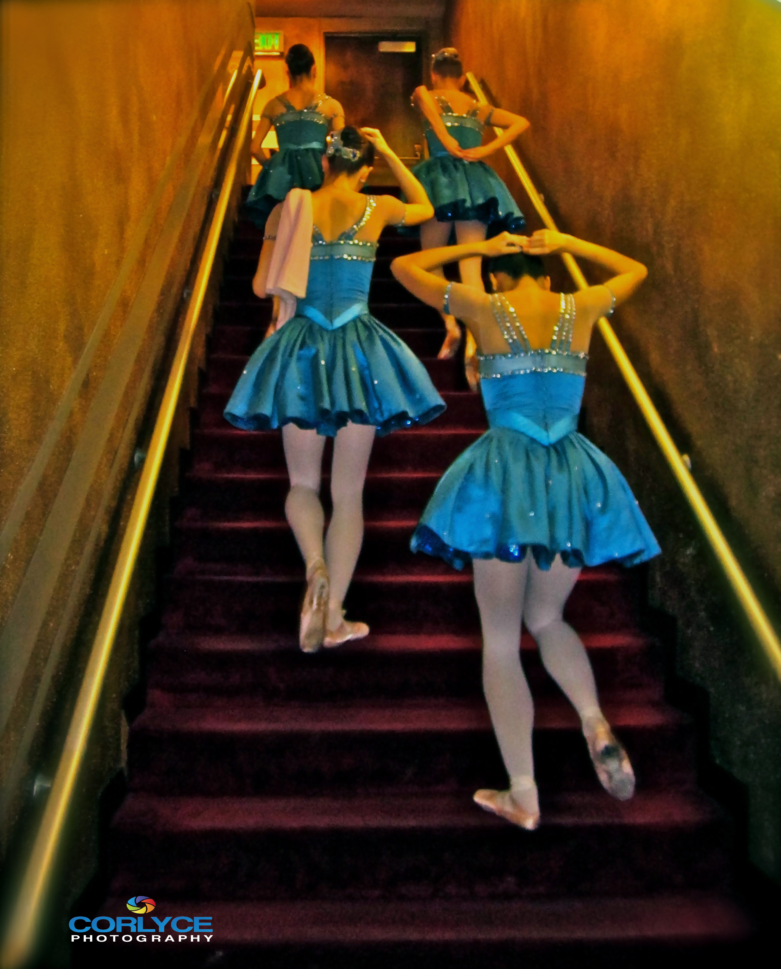 Blue Girls. San Jose Ballet. San Jose, Ca.